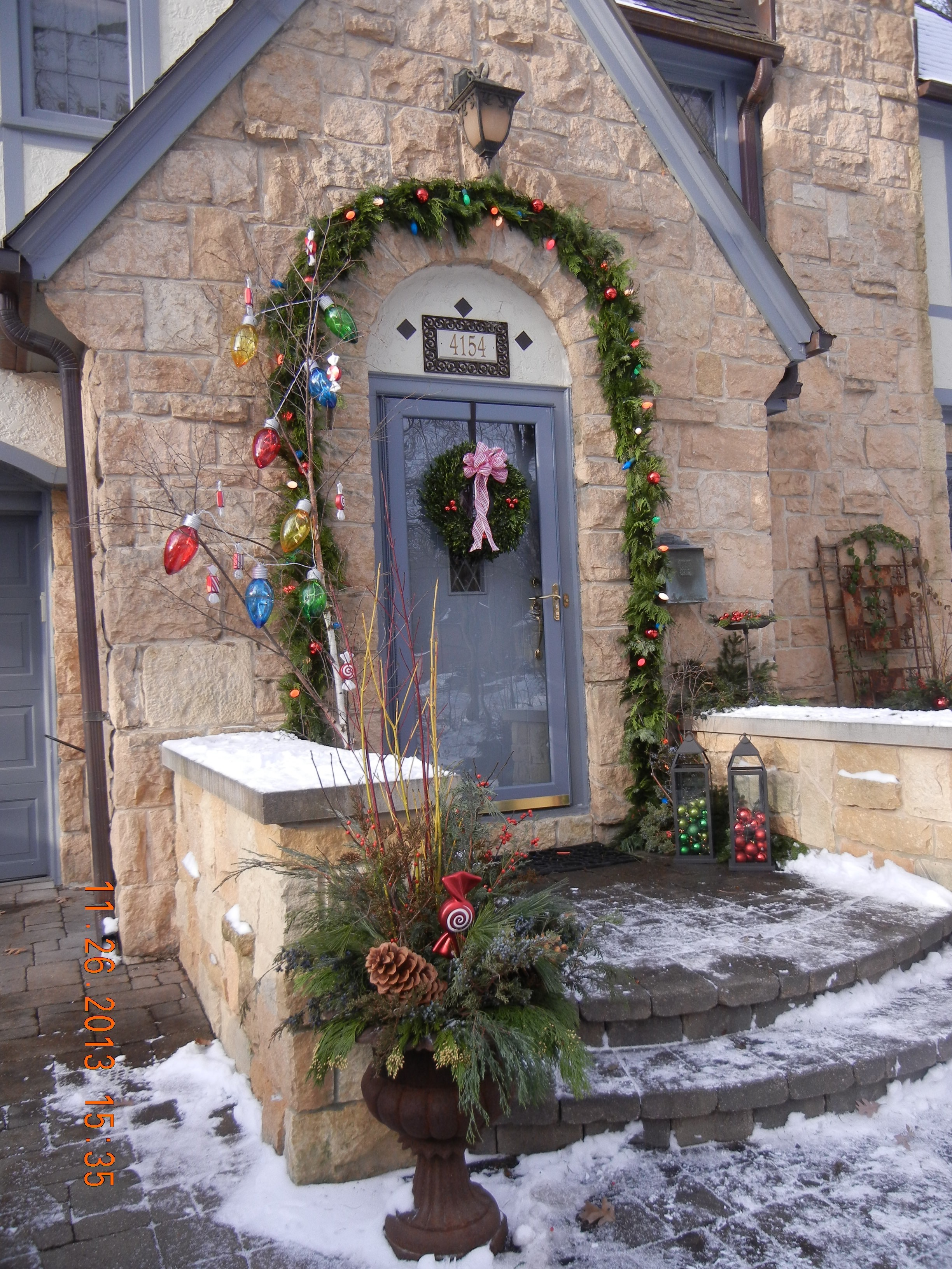 Whimsical winter decorating