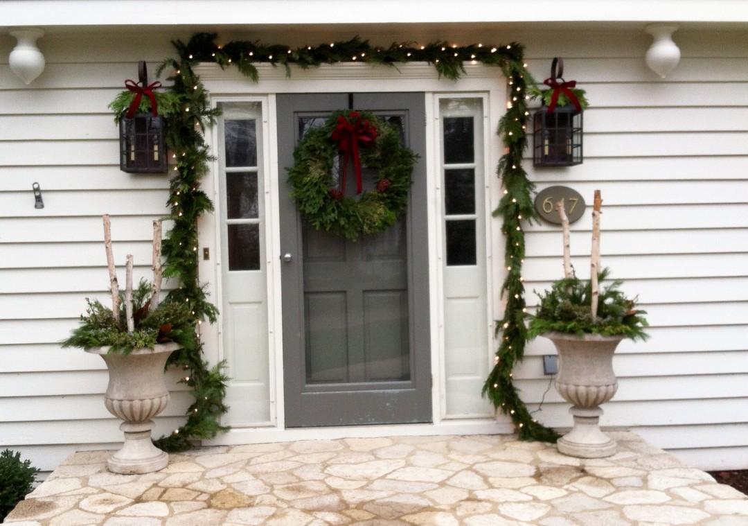 Holiday Festive Entrance