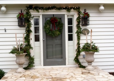 Holiday Festive Entrance