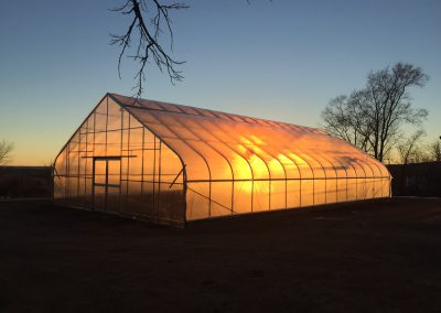 Sunset at the Greenhouse