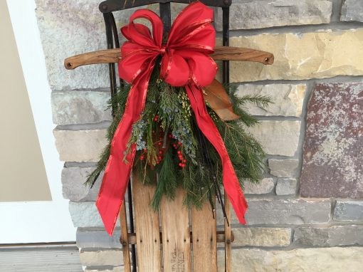 Old Fashioned Sled