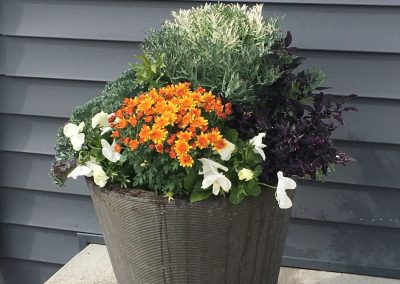 Simple fall container