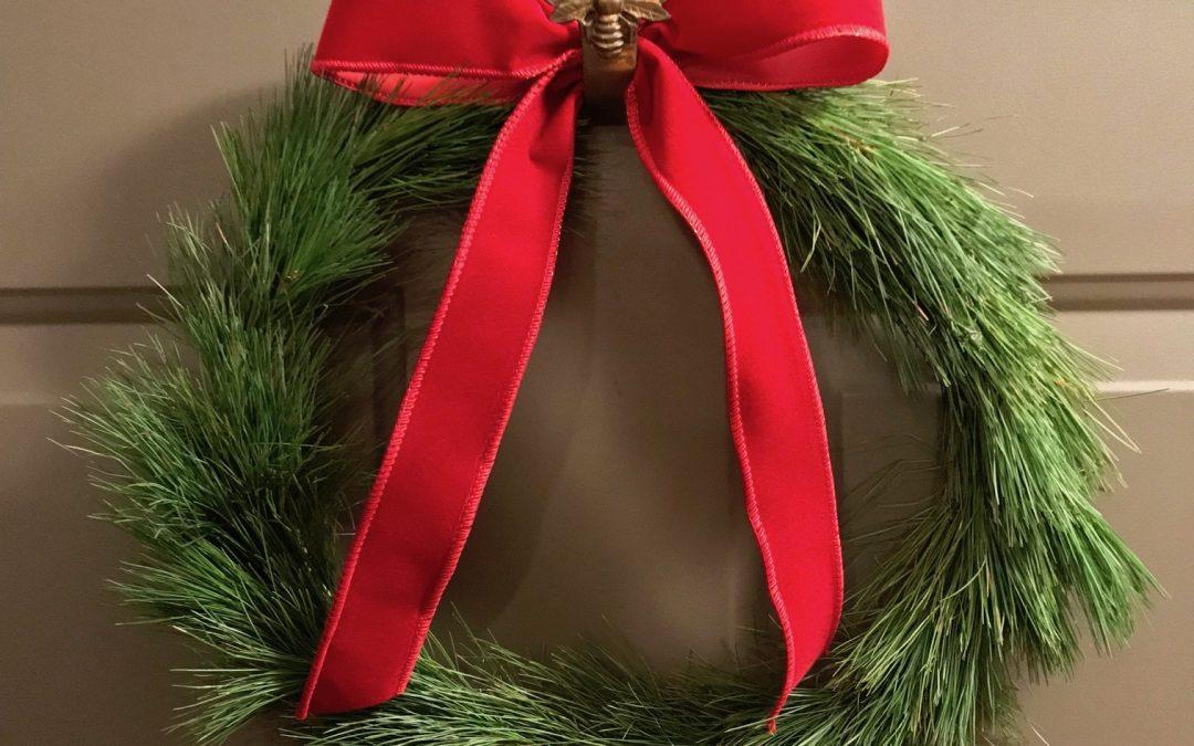 Holiday Quilt Wreath