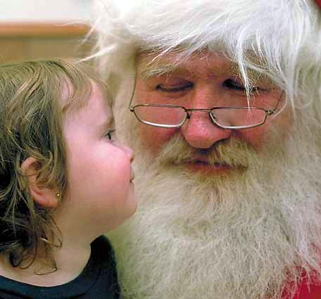 Santa Claus is coming… to Jada's Garden!
