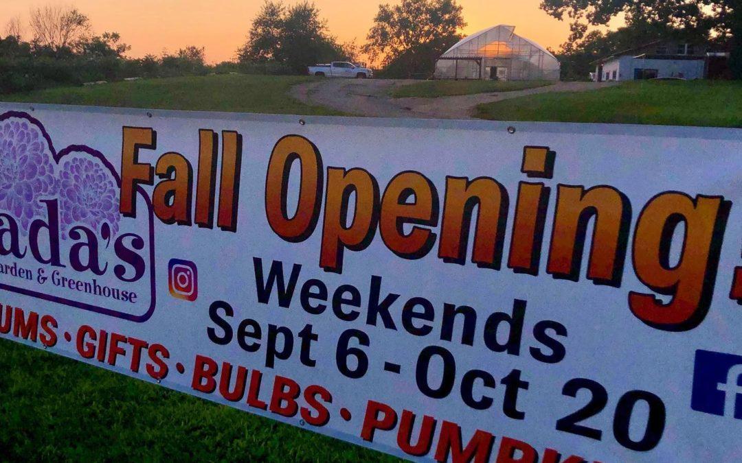 Fall Opening – 2019